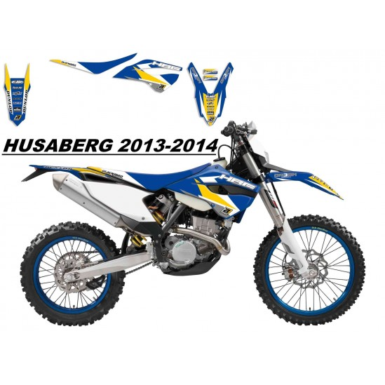 Kit déco et selle HUSABERG Dream Graphics 3