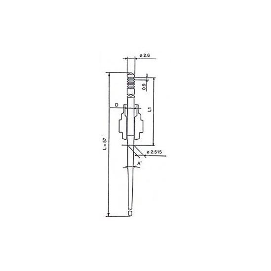 Aiguilles carburateur PJ/PE/PWK/PWM