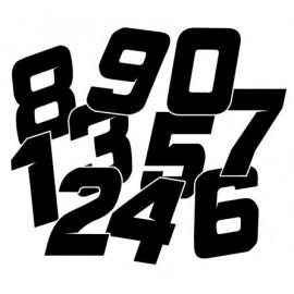 Numéro de course STYLE
