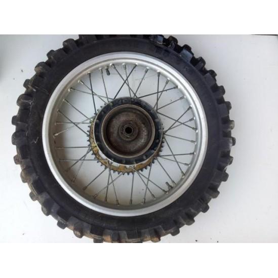 Roue arrière DID 125 250 cr 1984 / Wheel