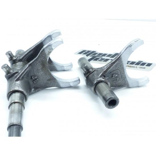 Fourchettes de boite a vitesse 250 cr 87-92 / fork shift