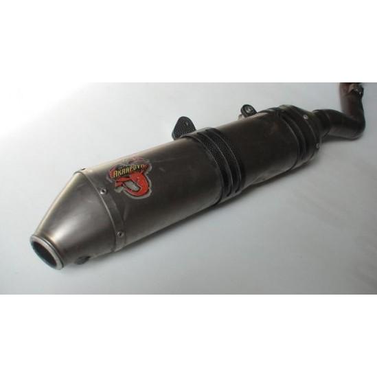 Silencieux AKRAPOVIC inox 450 TE 06