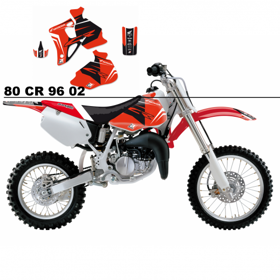 Kit déco et selle HONDA Dream Graphics 4