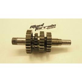 Arbre primaire de boite à vitesse 125 rm 1990 / Gear box