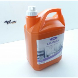 Gel savon mail atelier ARGOS 5 litres avec pompe!