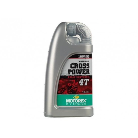 Huile 4T Motorex CROSS POWER 100% synthetic.1 litre.