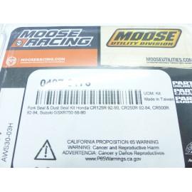 Kit spys + cache poussières Honda 125/250 cr 92-94