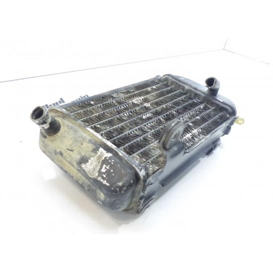 Radiateur droit 125 yz 87 / radiator